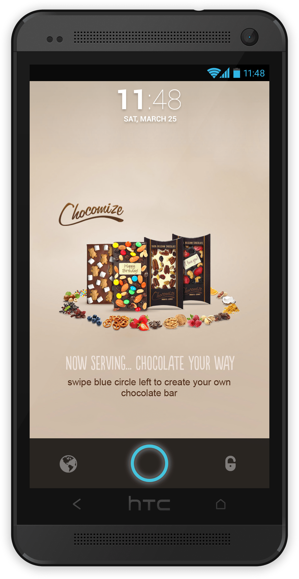 Chocomize Ad Creative