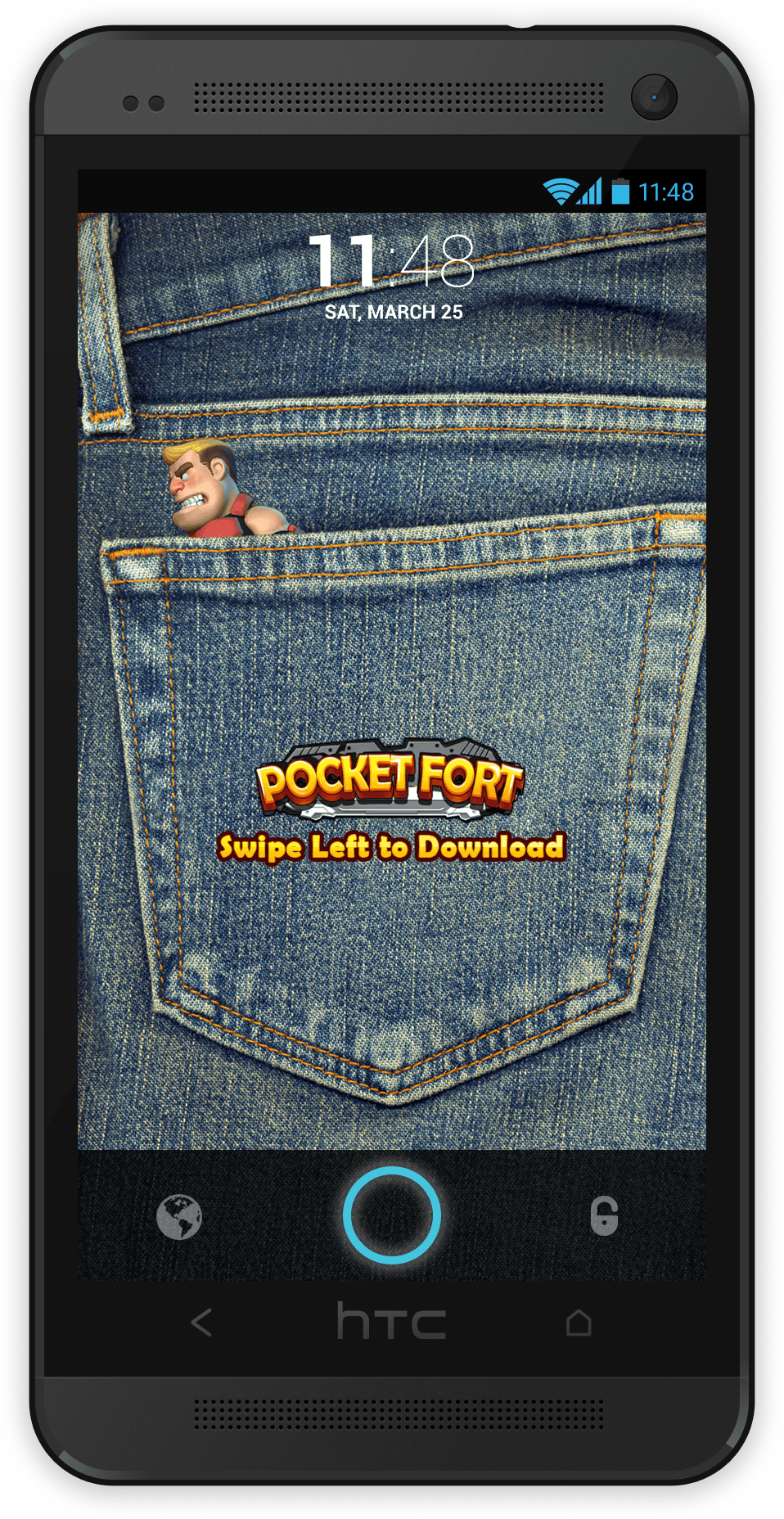 Pocket Fort Ad Creative