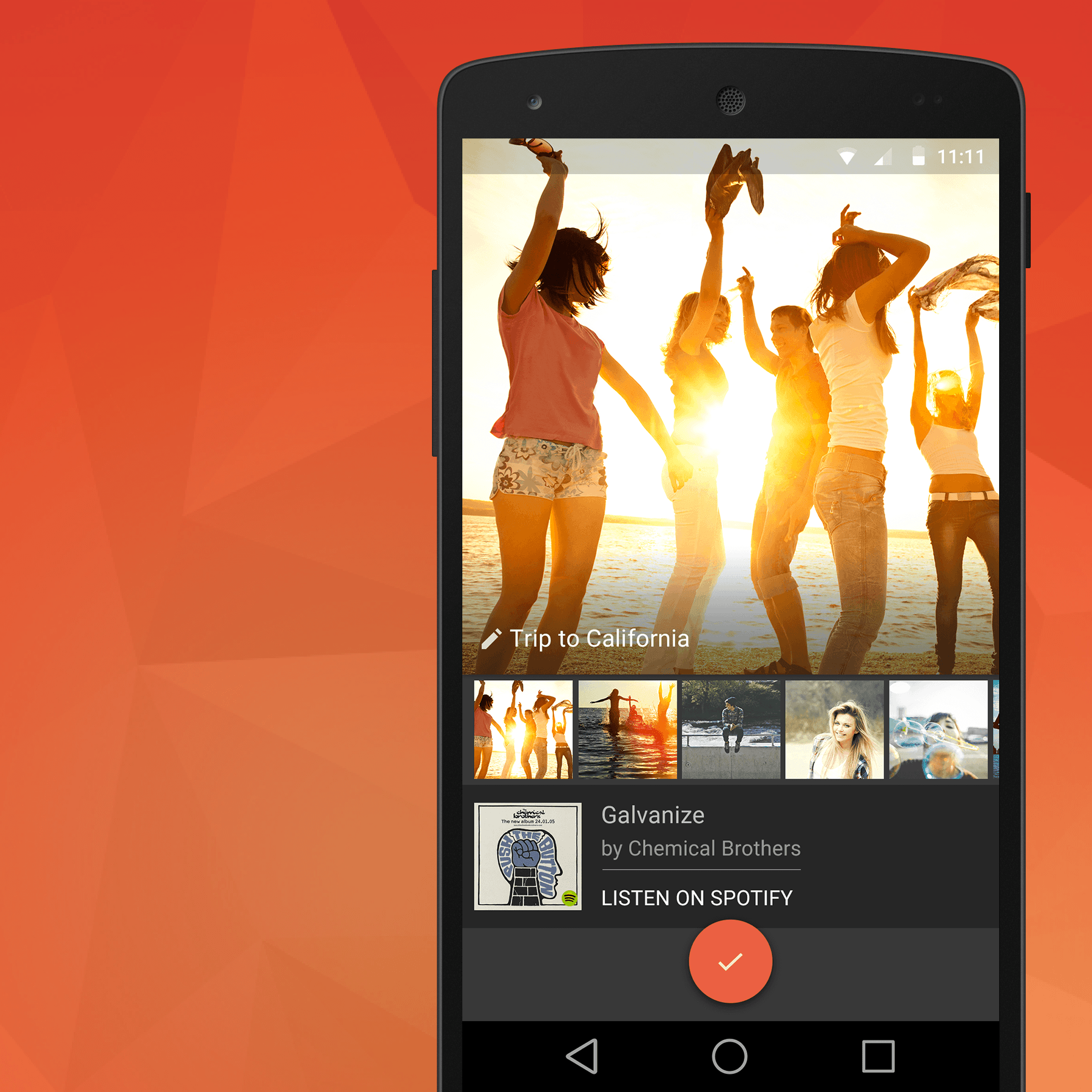 MusicPix — Android Product Design